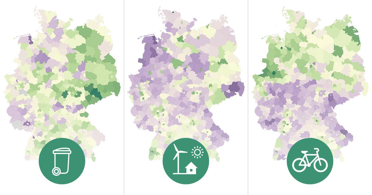 Wo Deutschland grün tickts