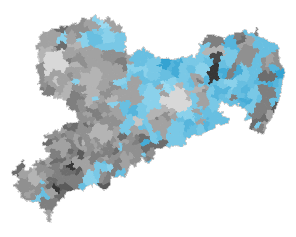 Leipzig Karte Sachsen.Landtagswahl 2019 In Sachsen Ergebnisse Grafiken Und Karten