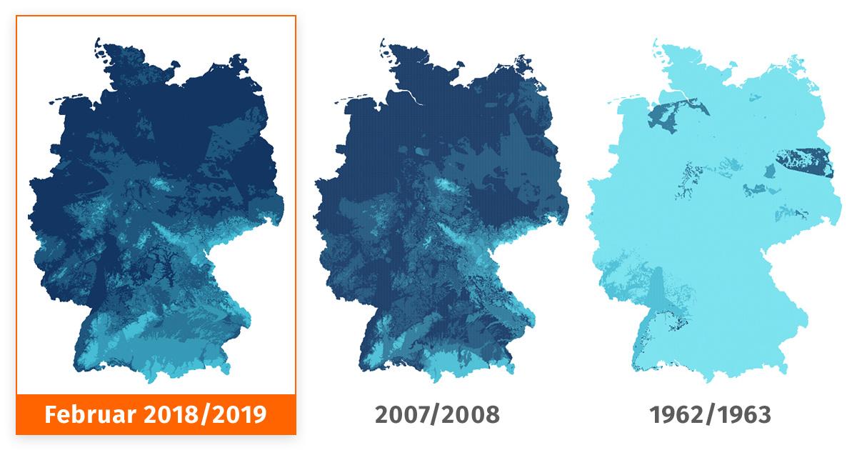 kältewelle deutschland 2019
